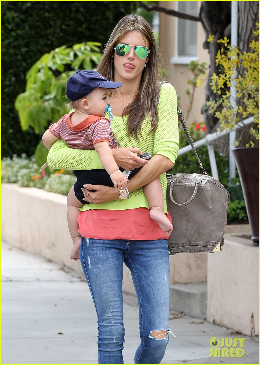 alessandra ambrosio happy early mothers day 142867932