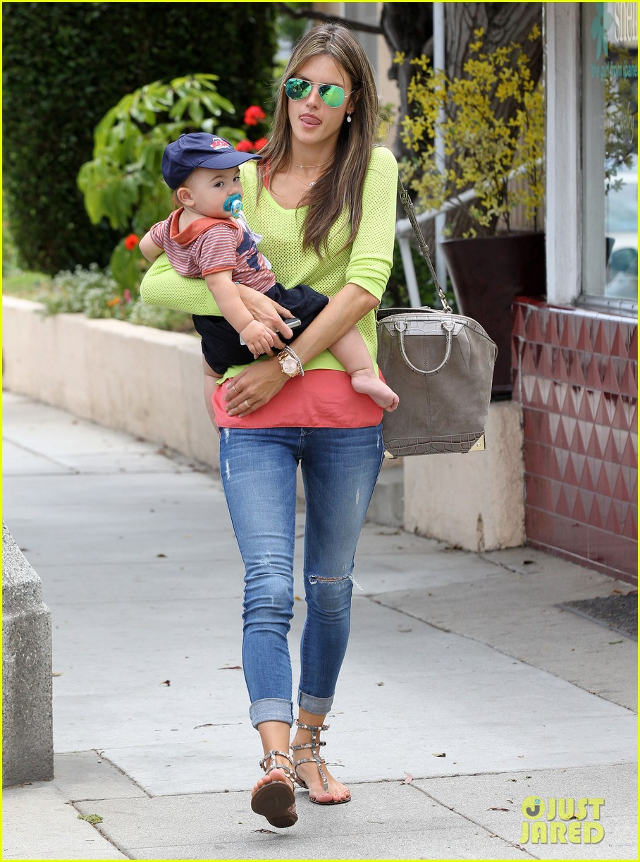 alessandra ambrosio happy early mothers day 152867933
