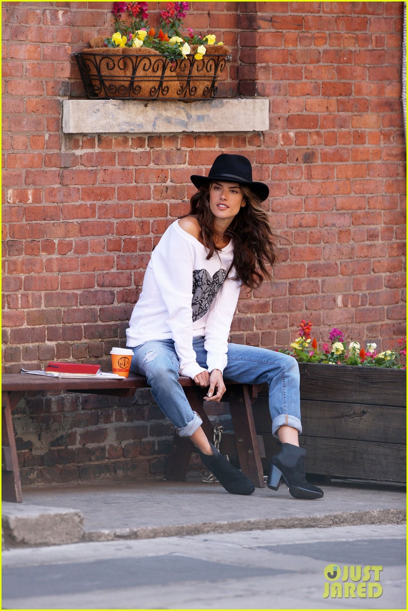 alessandra ambrosio new york photo shoot 112861782