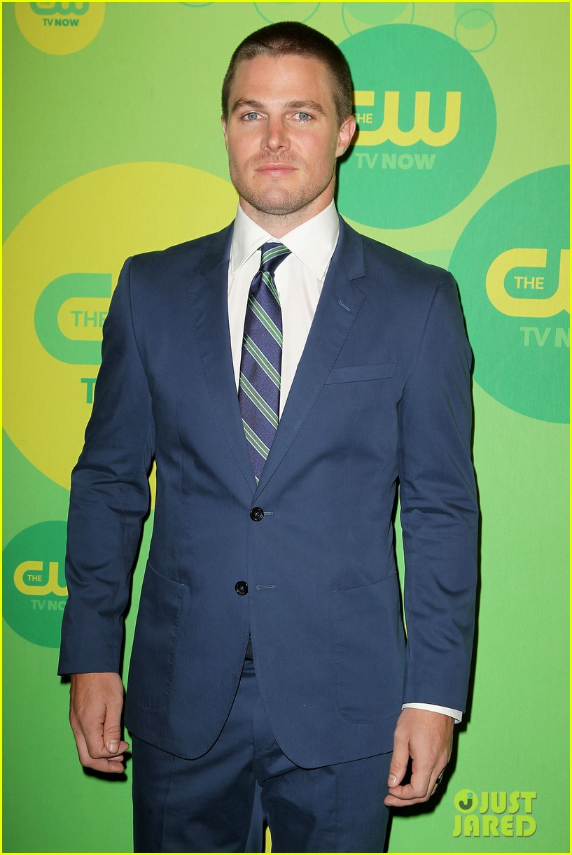 stephen amell colton haynes arrow cw upfront presentation 302871803