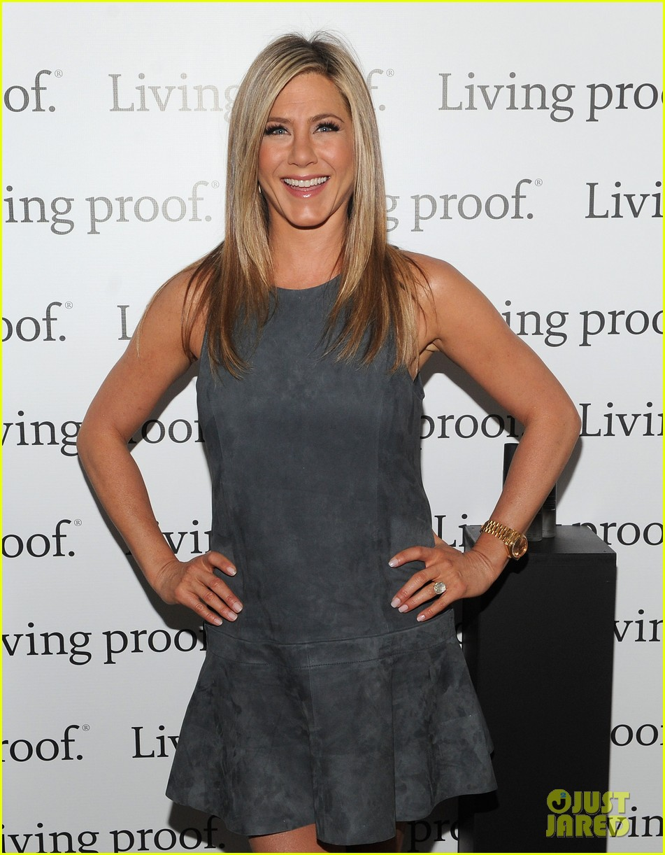 jennifer aniston living proof good hair day web series launch 022867224