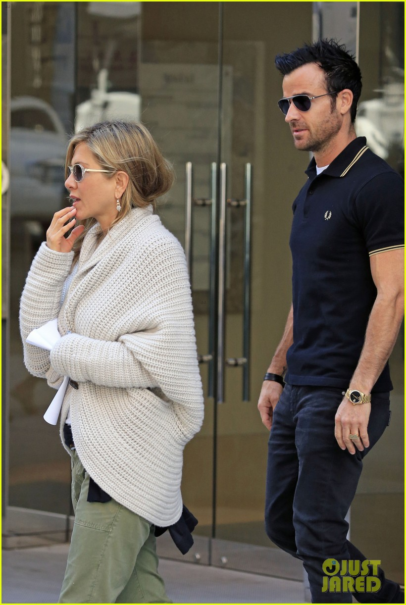 jennifer aniston justin theroux upper east side shopping 072869582