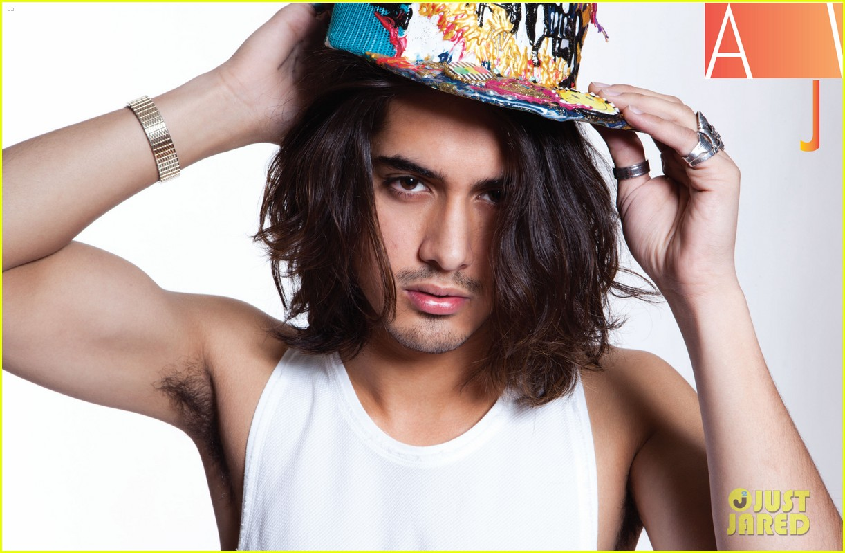 avan jogia covers glow magazine may 2013 02