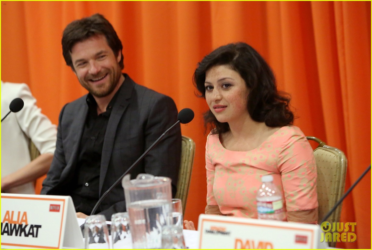 jason bateman portia de rossi arrested development press conference 122863878