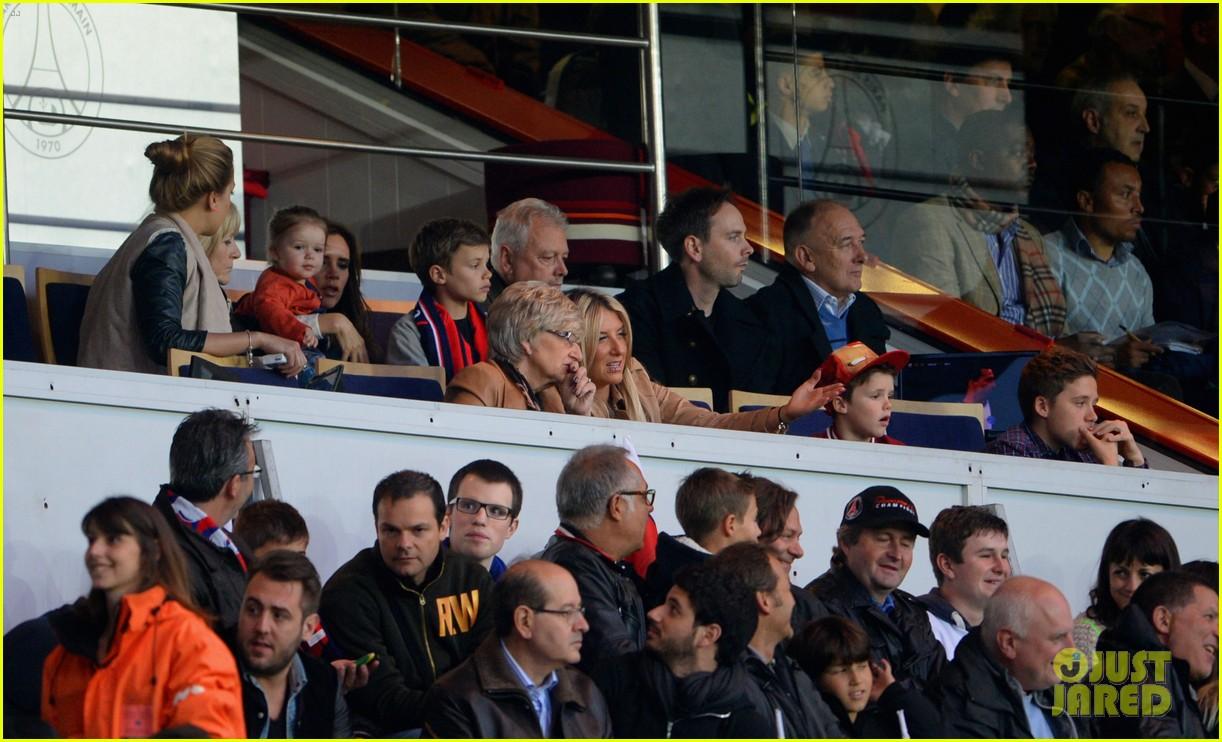 david beckham celebrates final soccer game with family 042873279
