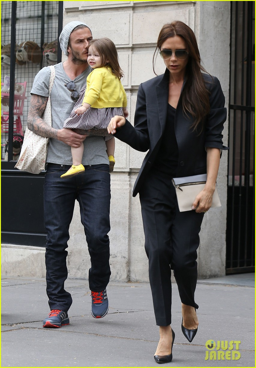 david victoria beckham shopping fun with harper 03