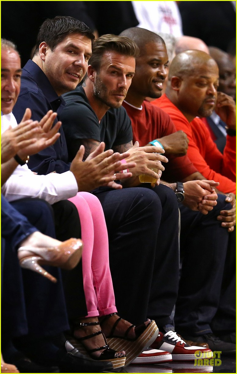 david beckham miami heat conference final playoff game 012881576