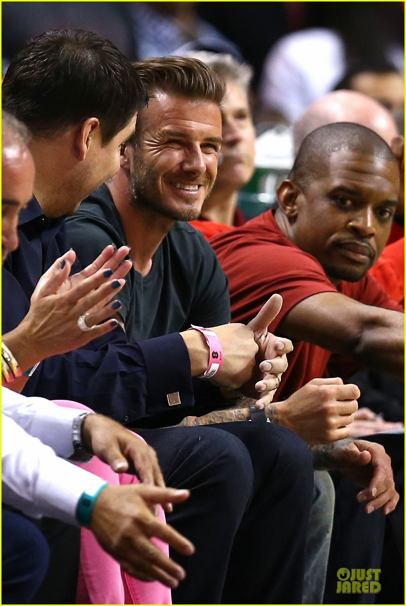 david beckham miami heat conference final playoff game 022881577