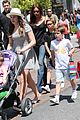 victoria david beckham separate shopping trips with the kids 05