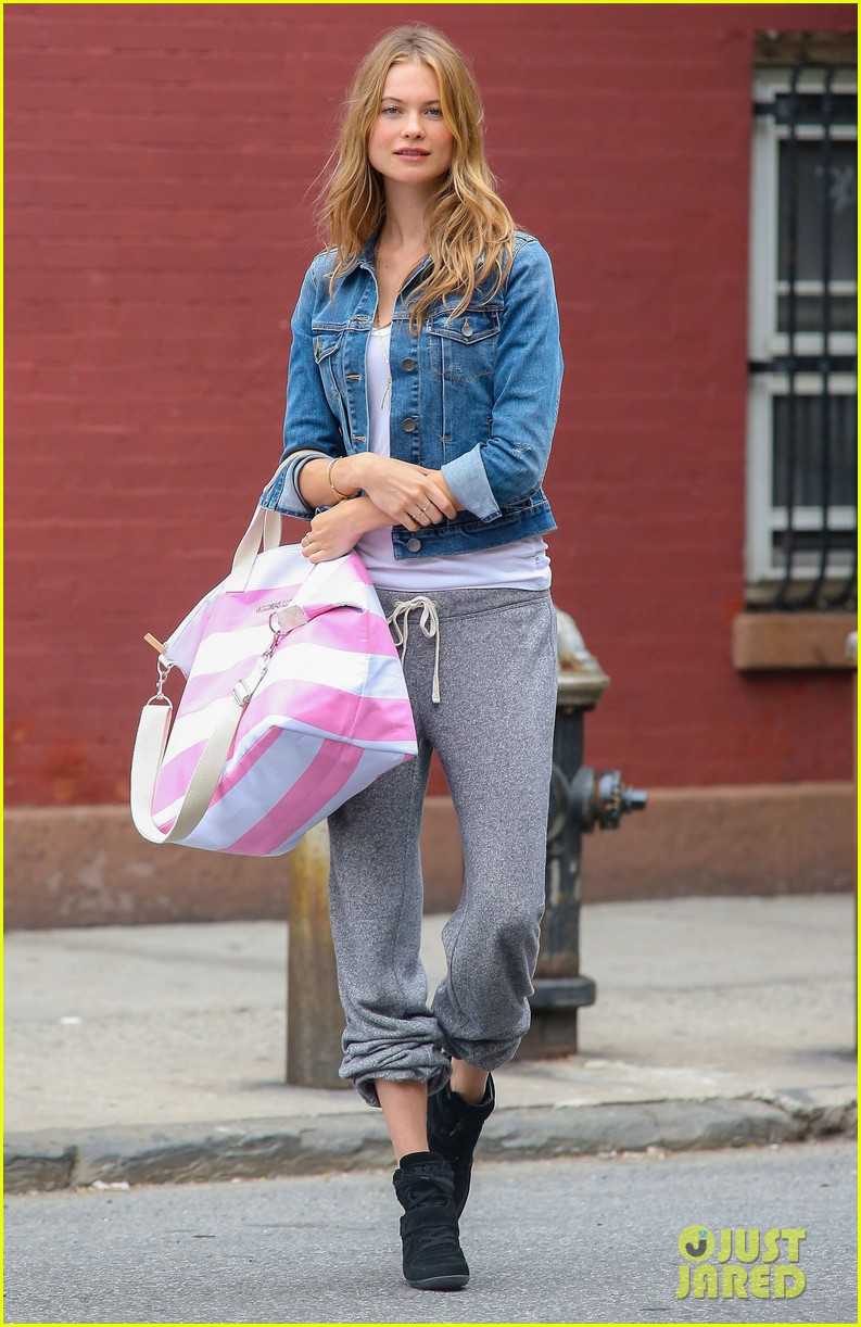 behati prinsloo rocks comfy sweats for photo shoot 122876740