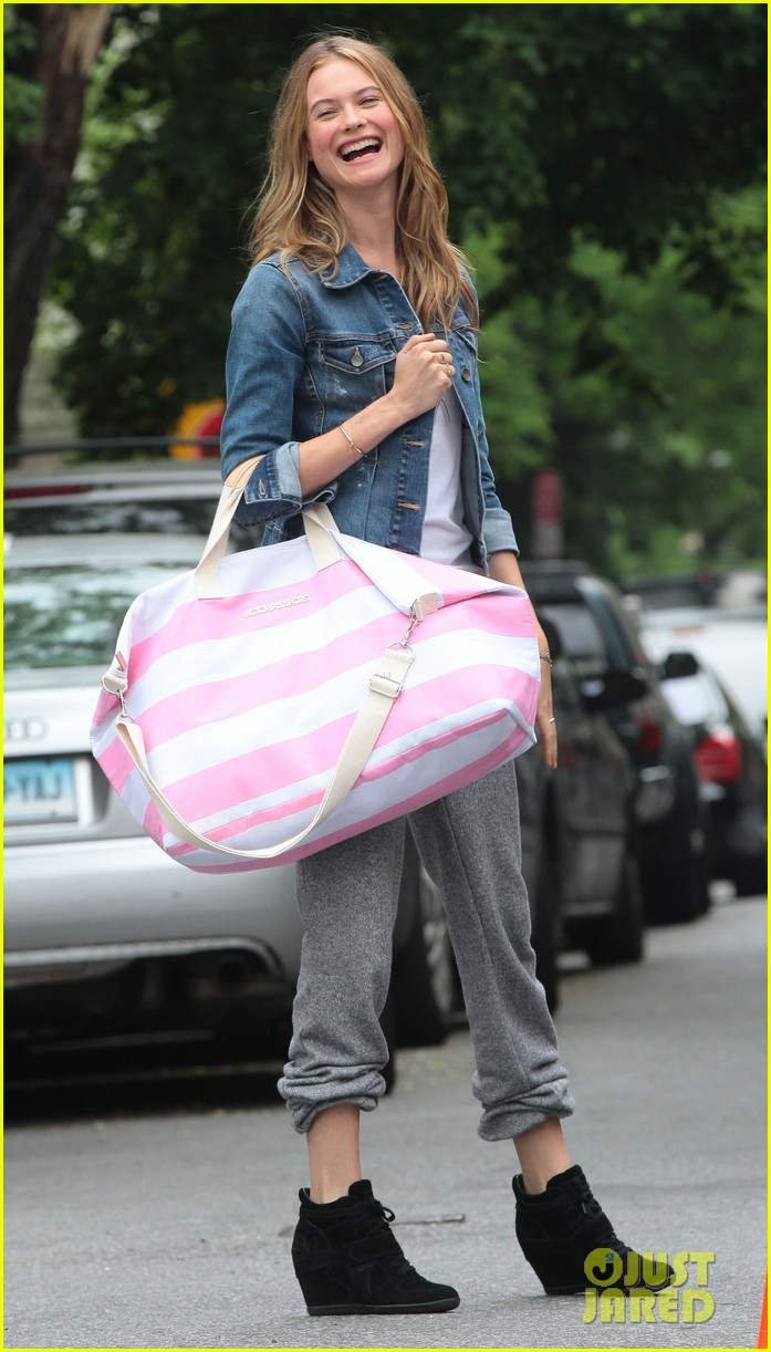 behati prinsloo rocks comfy sweats for photo shoot 152876743