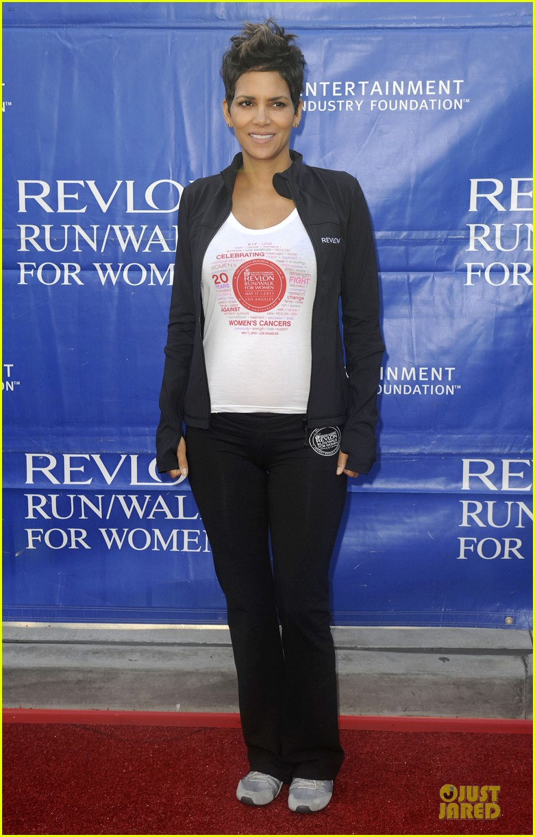 halle berry revlon run for women in la 01