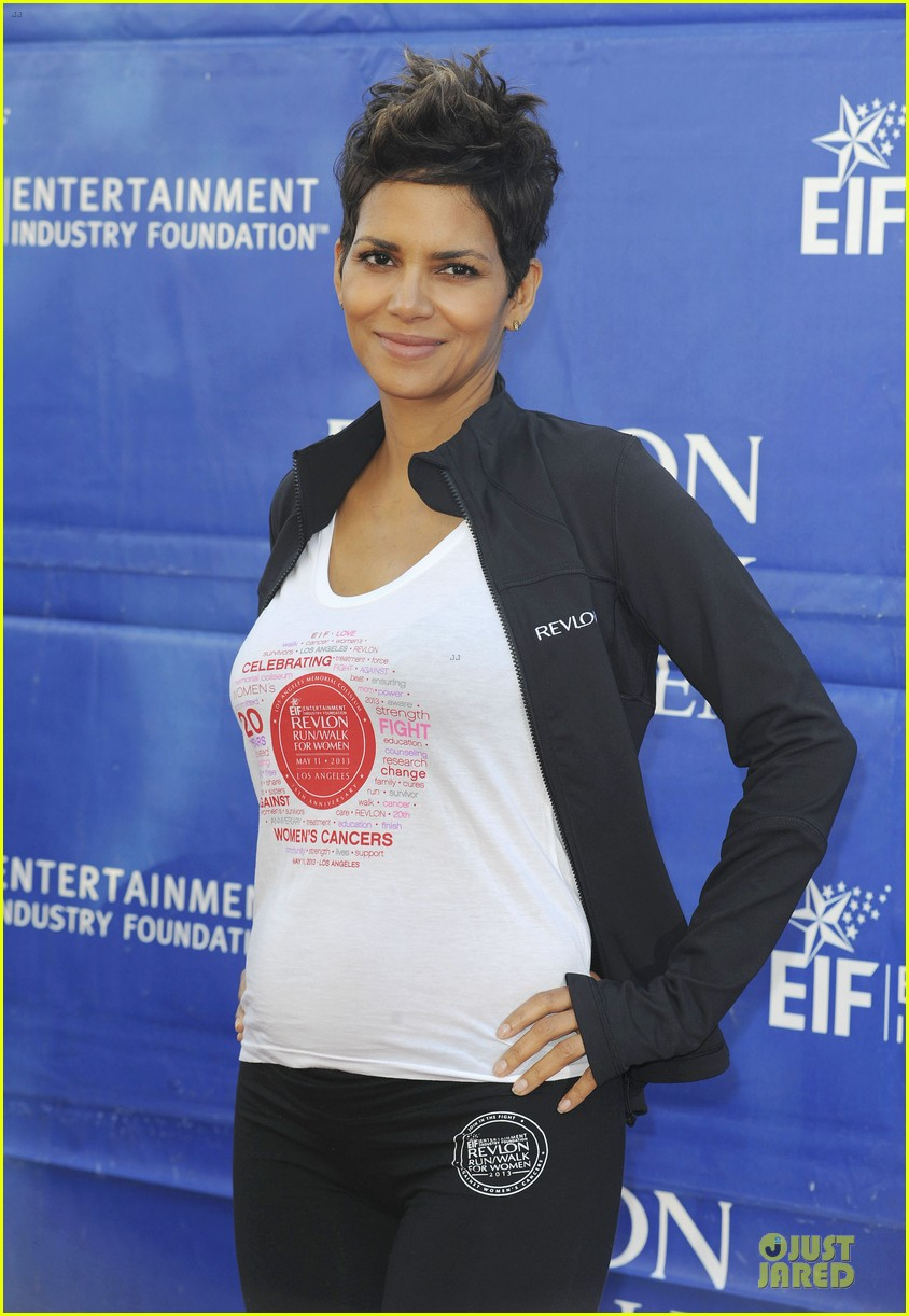 halle berry revlon run for women in la 112868381