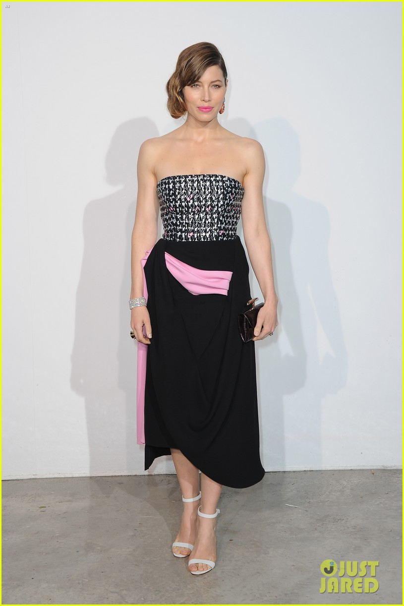 jessica biel marion cotillard dior cruise collection show 012873113