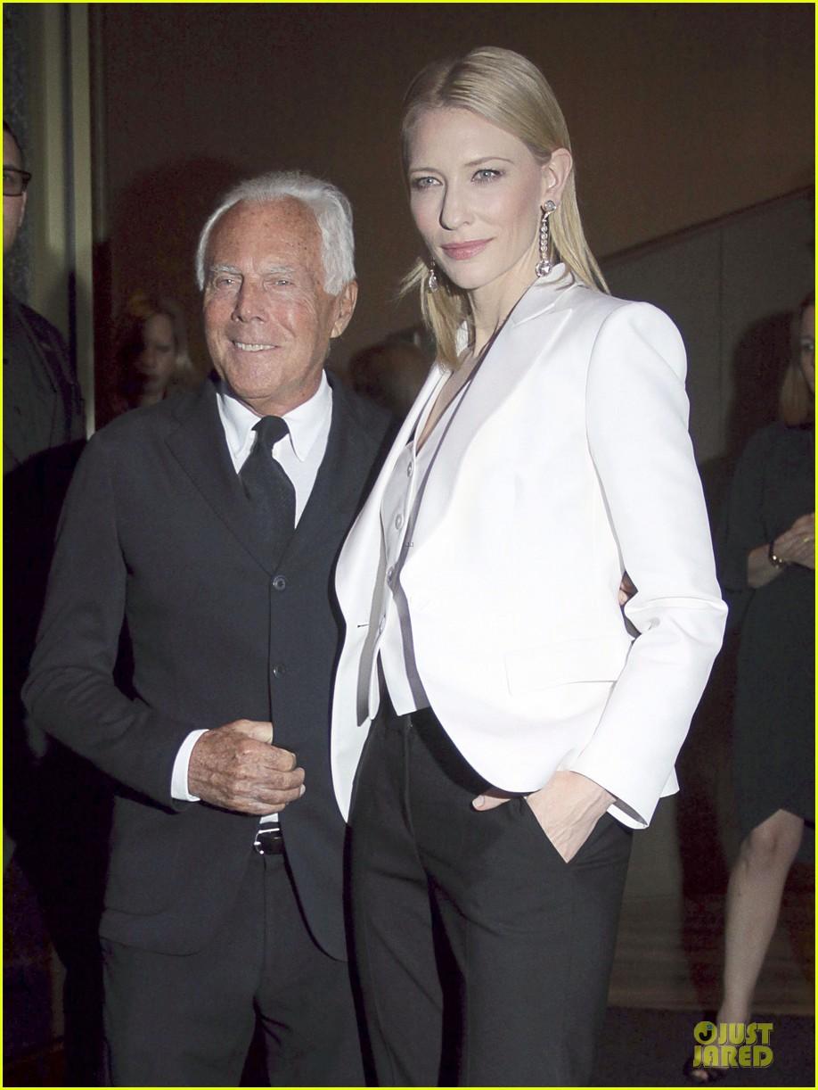 cate blanchett giorgio armani hold hands in milan 022872705