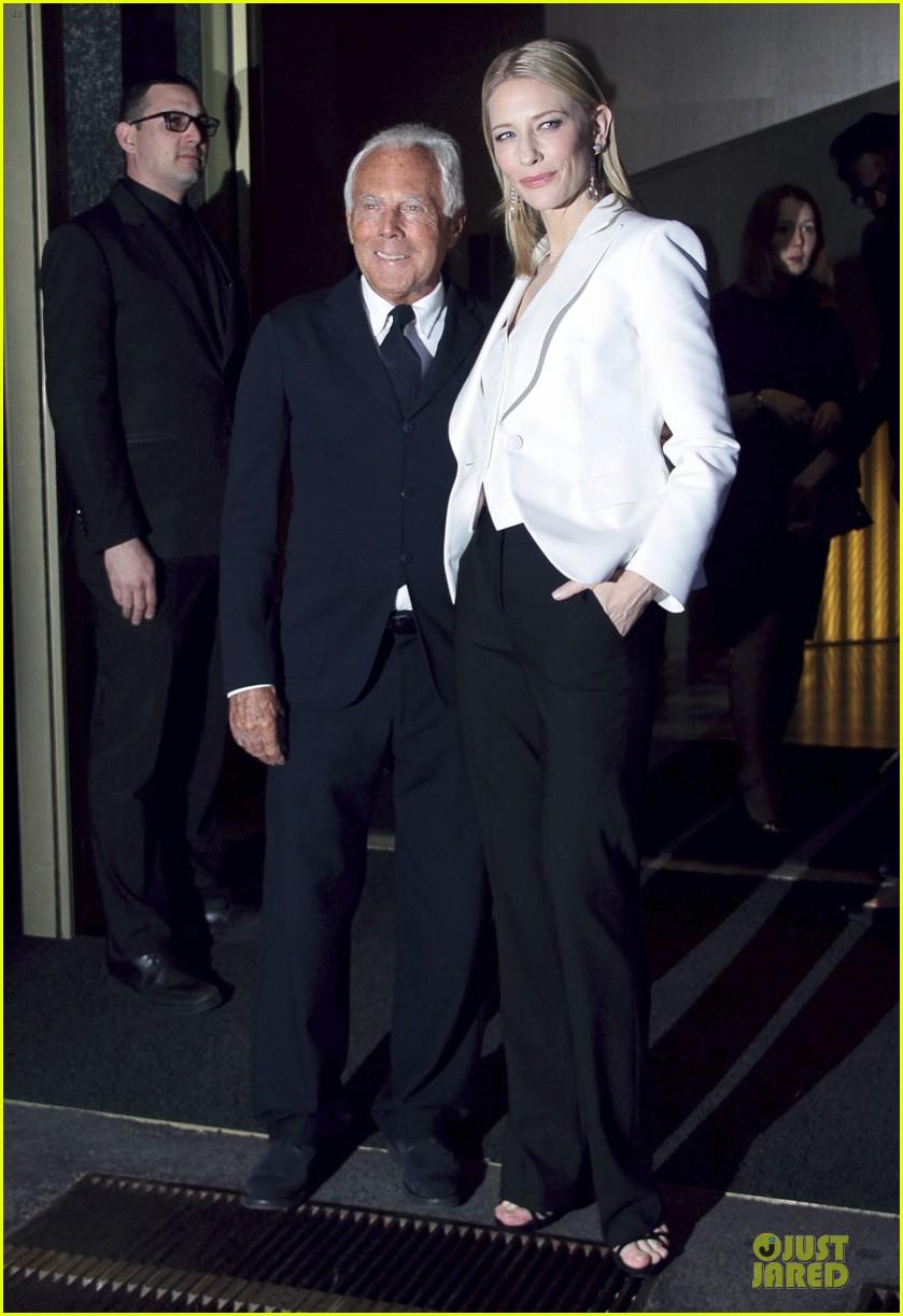 cate blanchett giorgio armani hold hands in milan 072872710