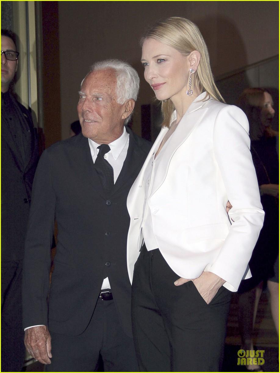 cate blanchett giorgio armani hold hands in milan 082872711