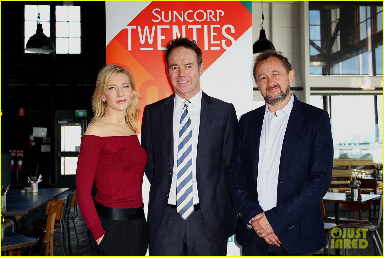cate blanchett suncorp twenties launch 032867725