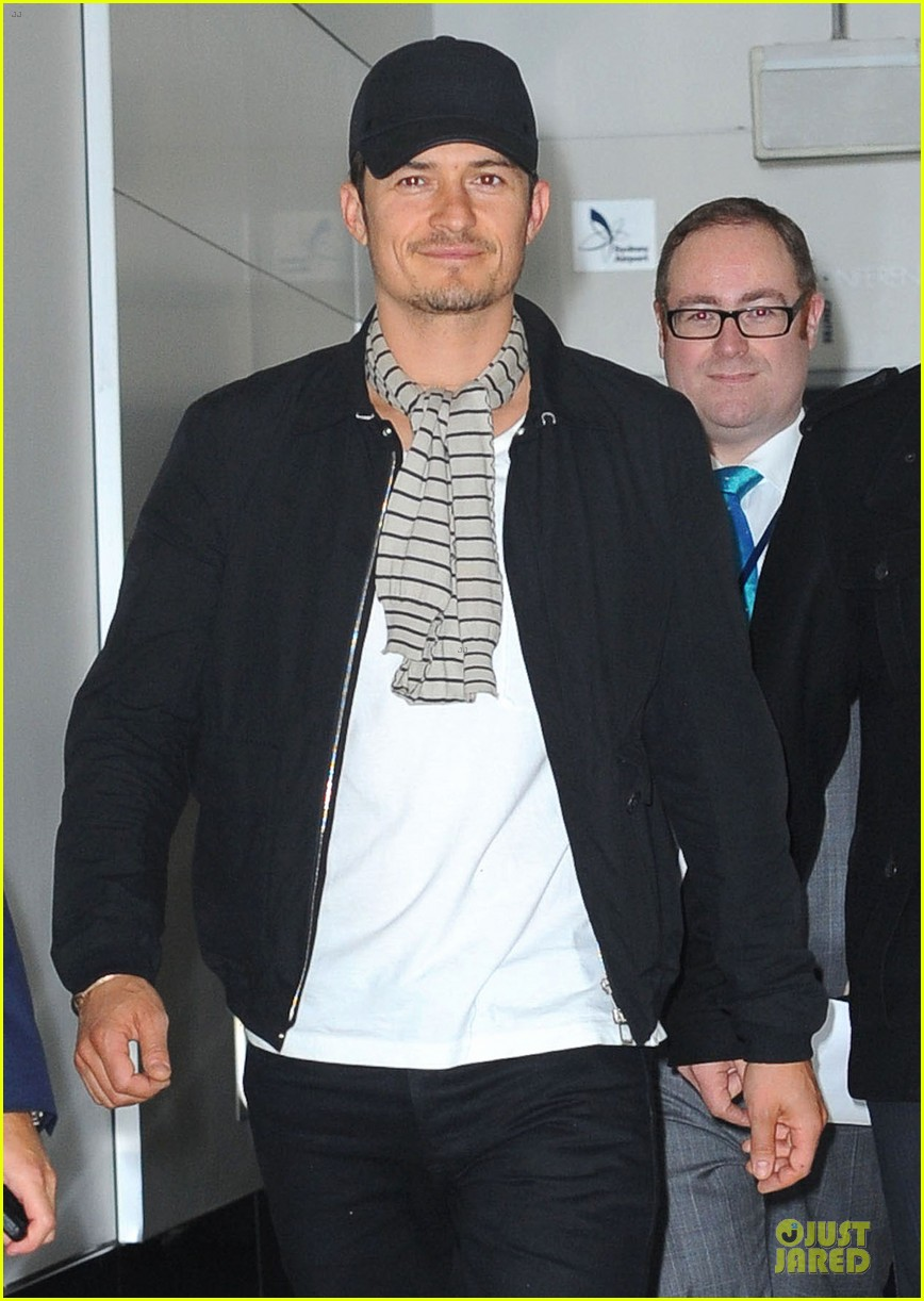 orlando bloom australia arrival after cannes 062879756