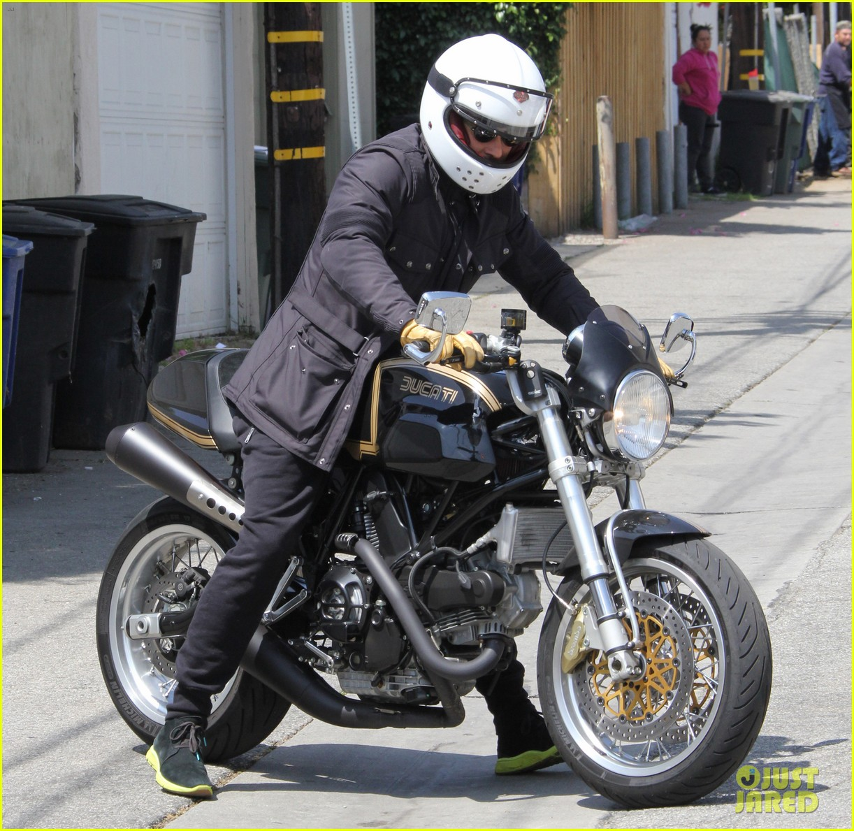 orlando bloom biker boy after workout session 102862239