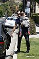 orlando bloom father son outing in los angeles 03