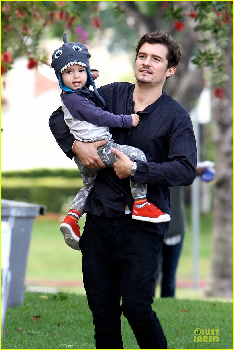 orlando bloom flynn la stroll after miranda kerr met ball 062866035
