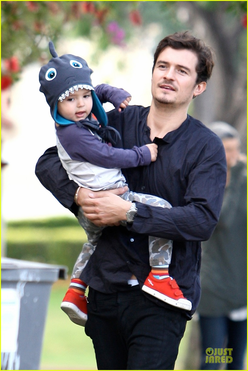 orlando bloom flynn la stroll after miranda kerr met ball 112866040