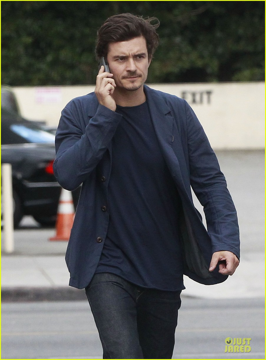 orlando bloom flynn la stroll after miranda kerr met ball 262866055
