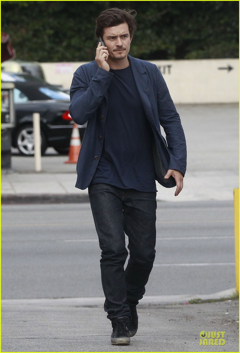 orlando bloom flynn la stroll after miranda kerr met ball 27