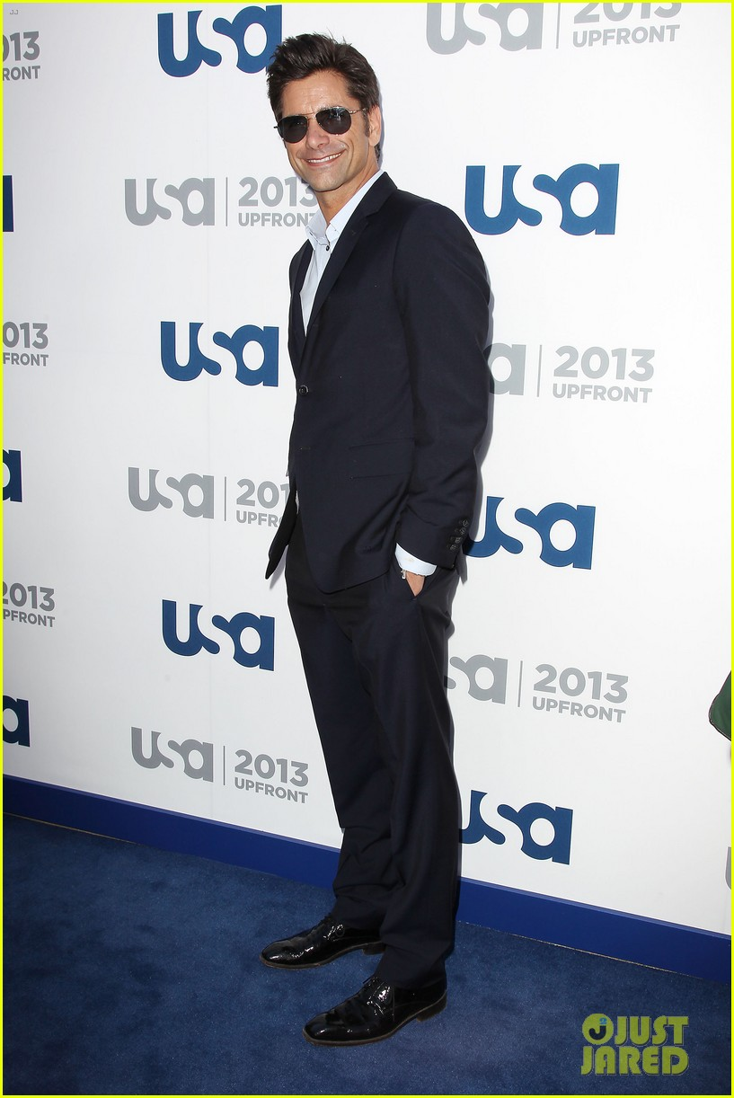 matt bomer aaron tveit usa upfront 2013 red carpet 282872123