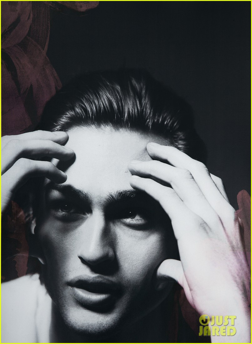 Douglas Booth Covers 'Clash' Magazine Cannes Special: Photo 2871306