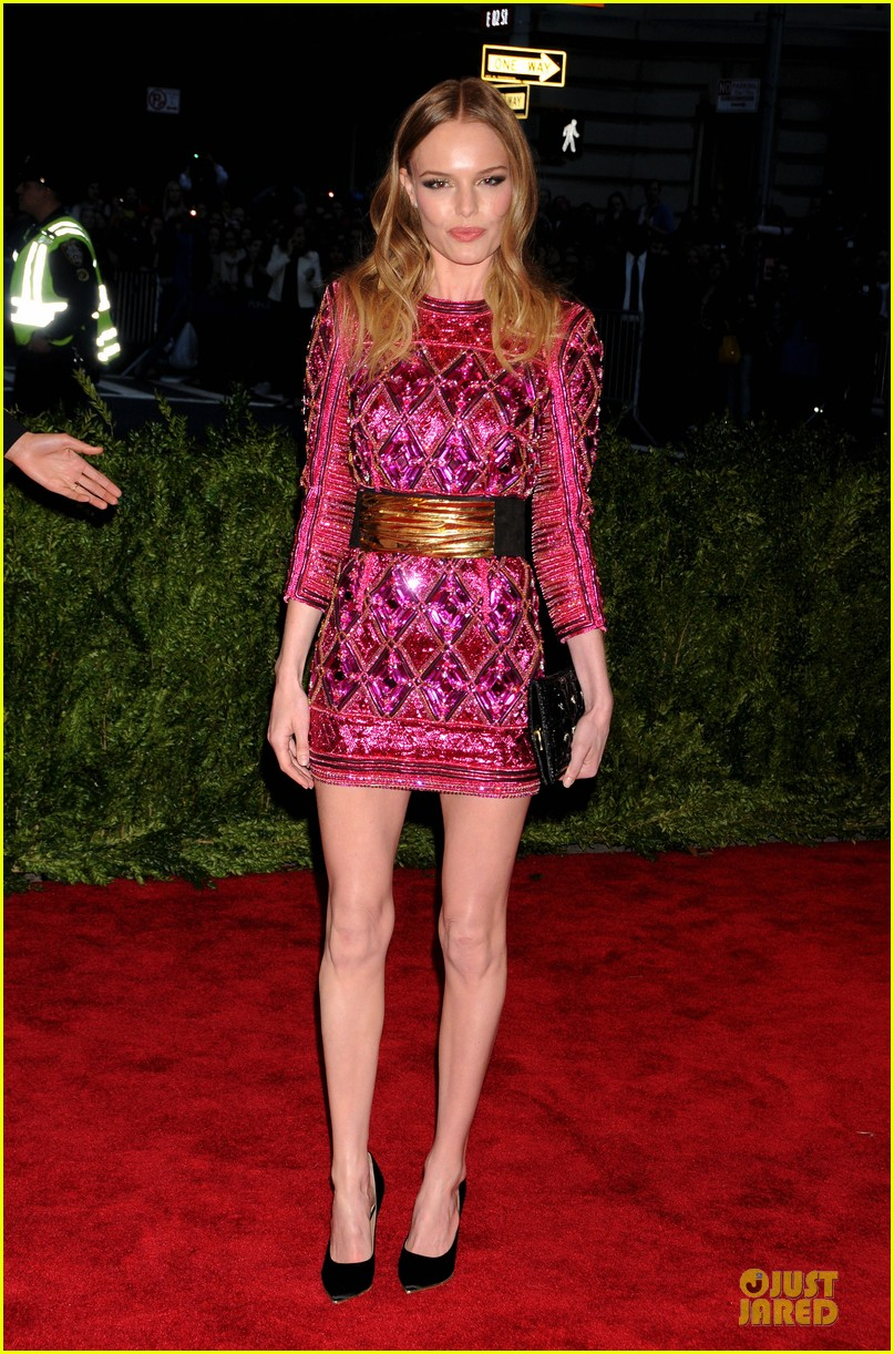kate bosworth michael polish met ball 2013 red carpet 01