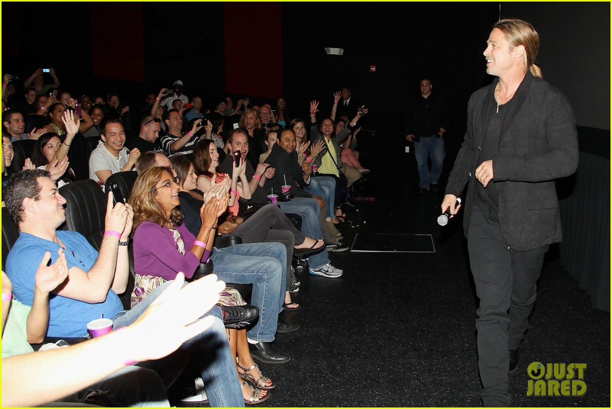brad pitt world war z moma screening 072876835