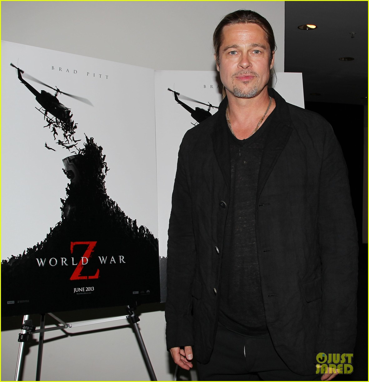 brad pitt world war z moma screening 082876836