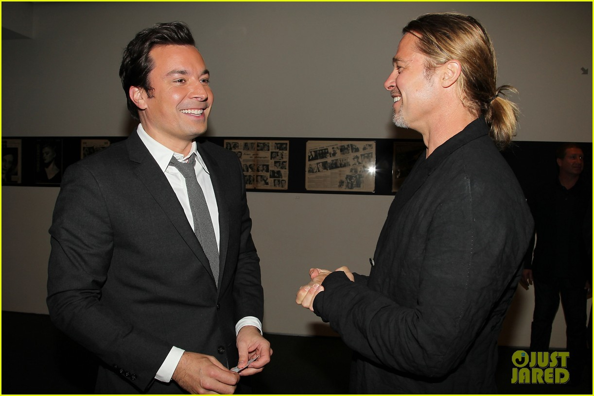 brad pitt world war z moma screening 102876838