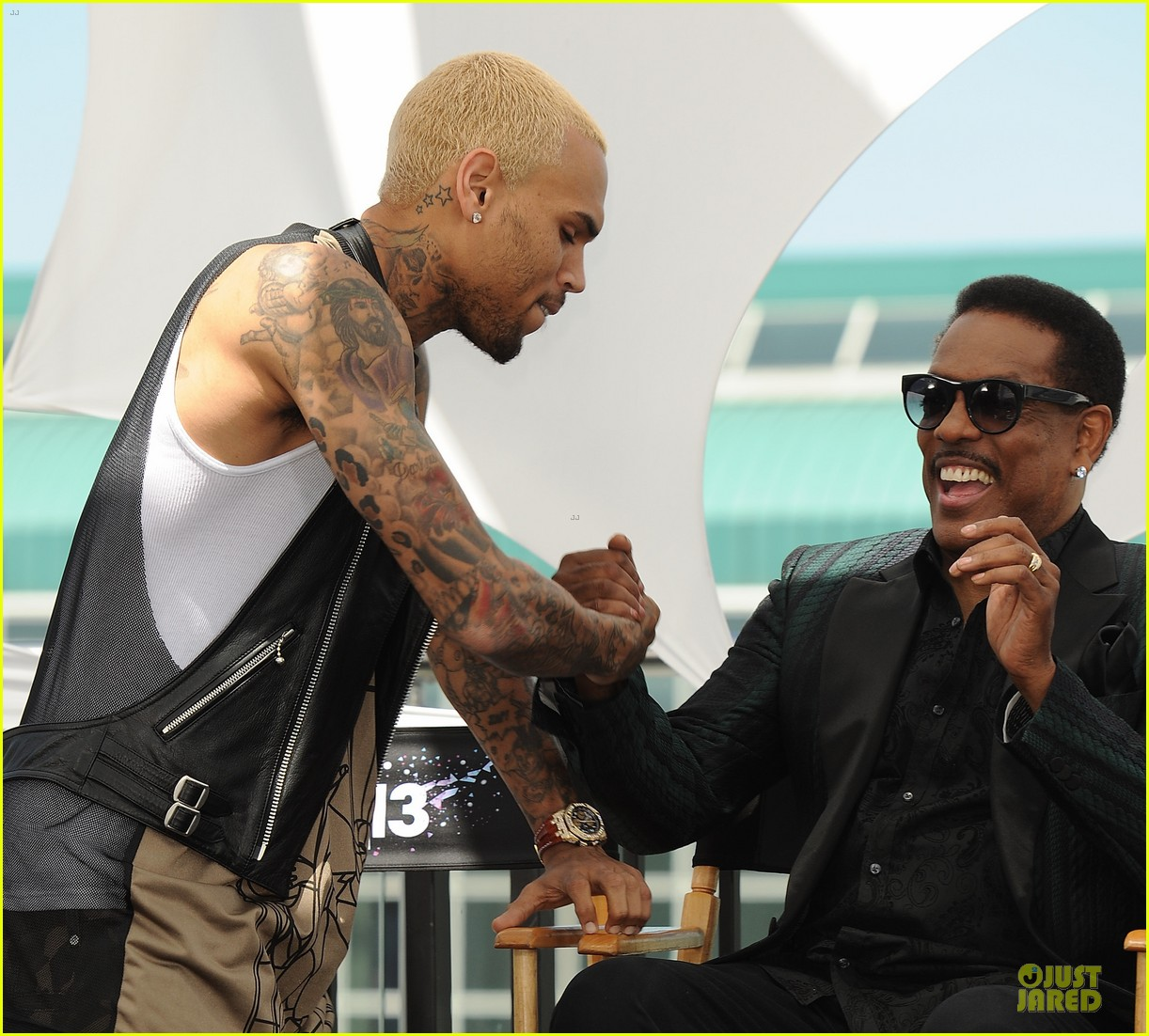 chris brown bet awards press conference 122870309