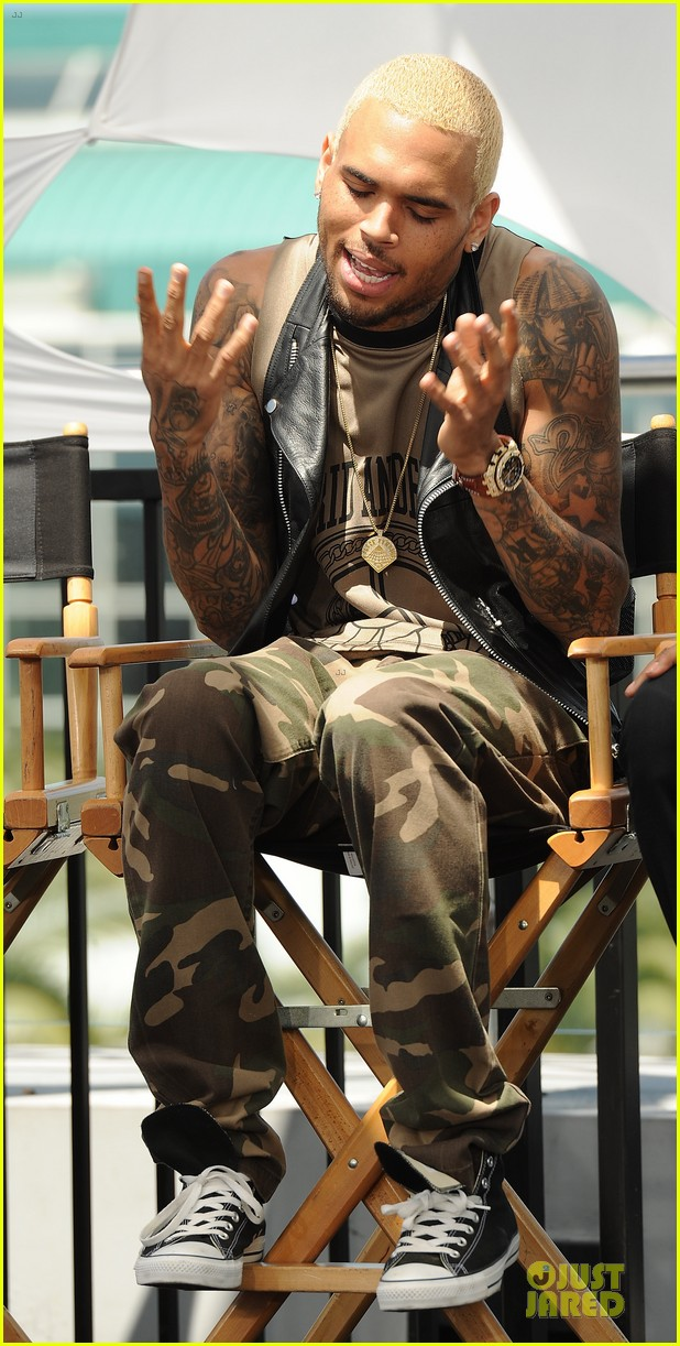 chris brown bet awards press conference 132870310
