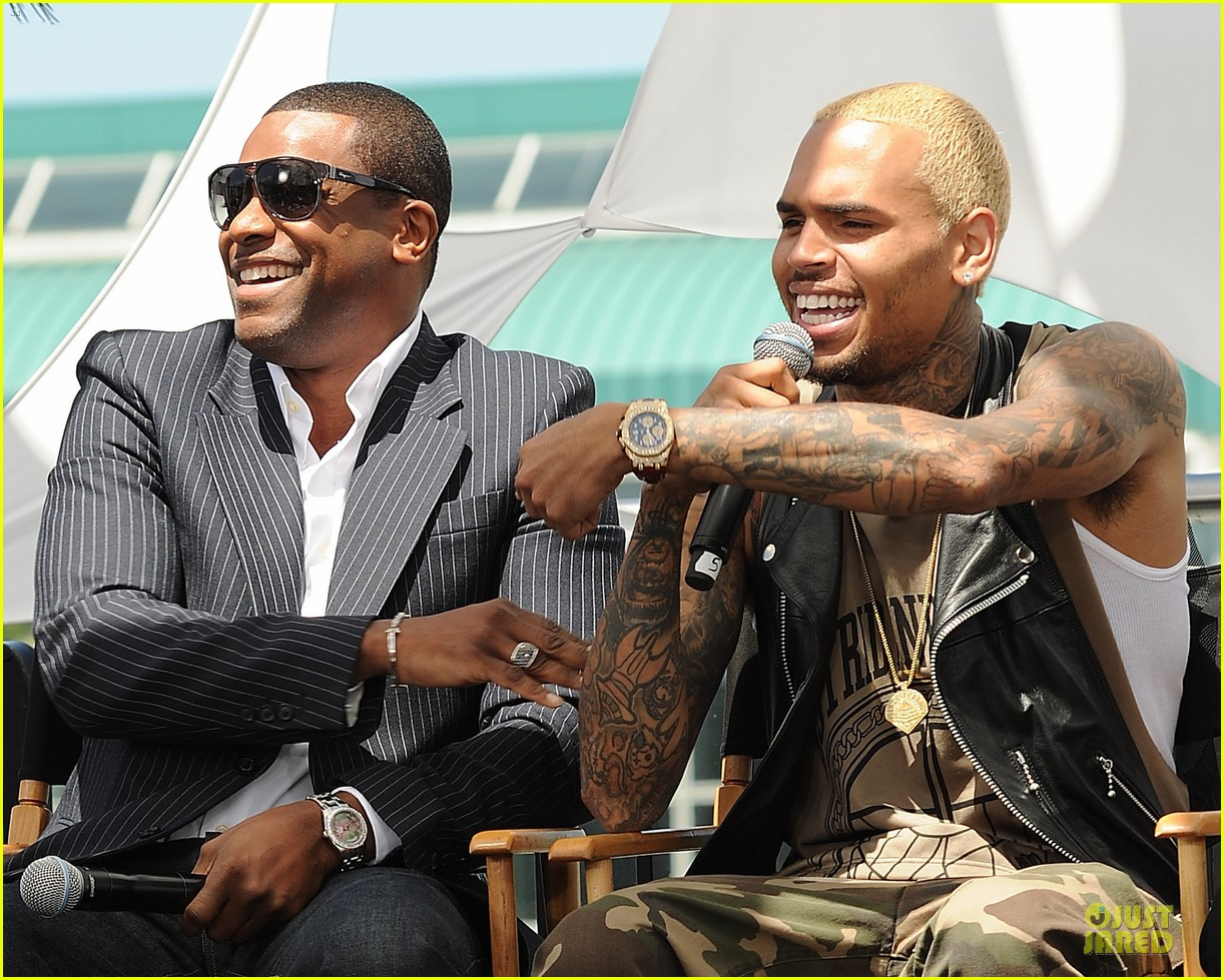 chris brown bet awards press conference 172870314