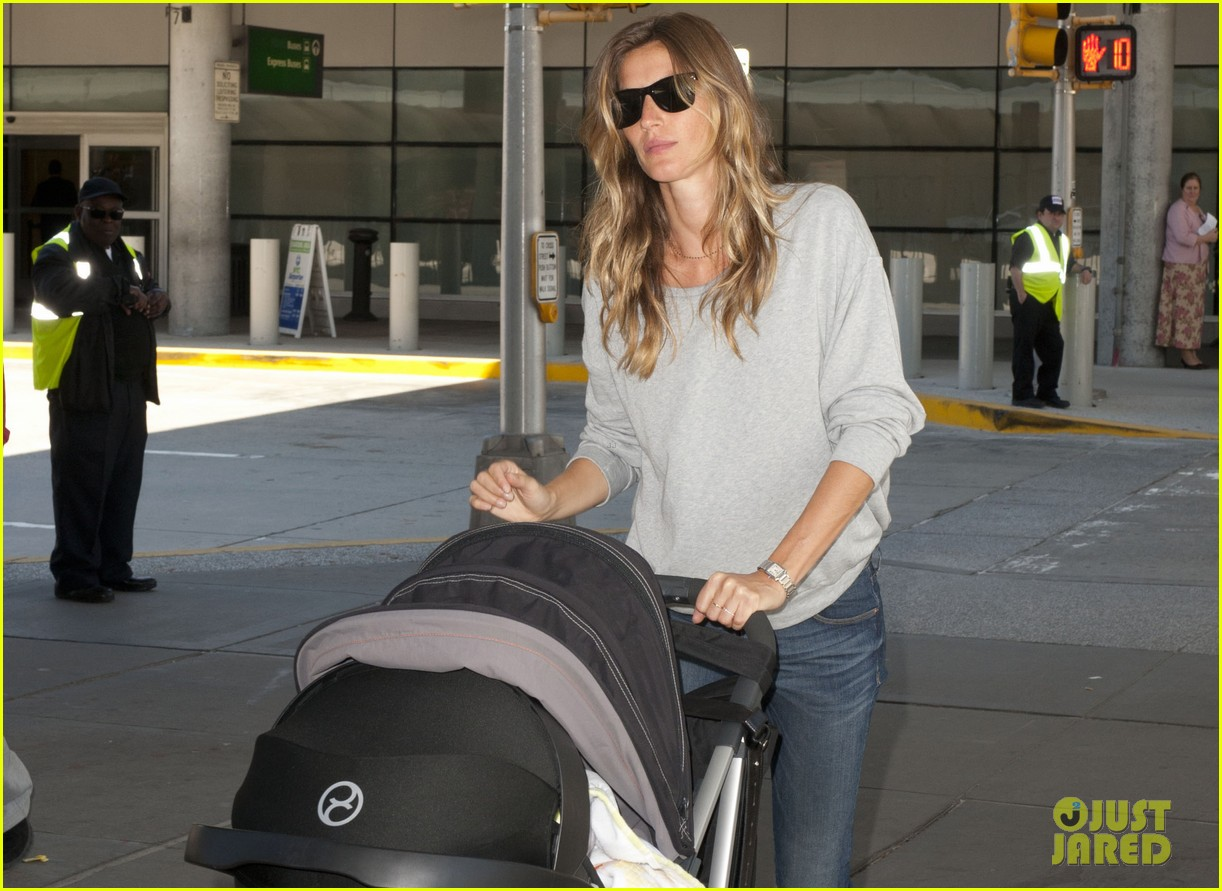 gisele bundchen vivian fly to nyc after hm campaign news 012862443