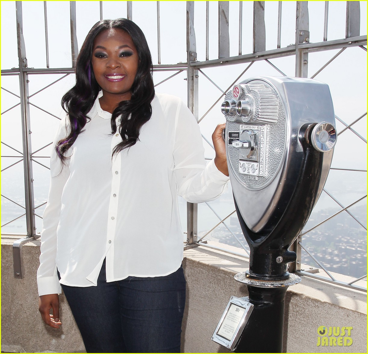 american idol winner candice glover visits empire state building exclusive quotes 022875590