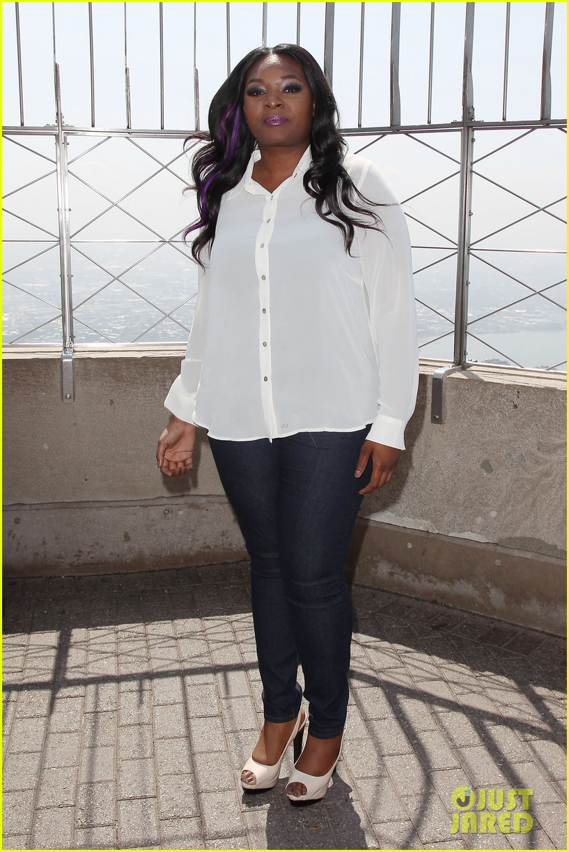 american idol winner candice glover visits empire state building exclusive quotes 092875597