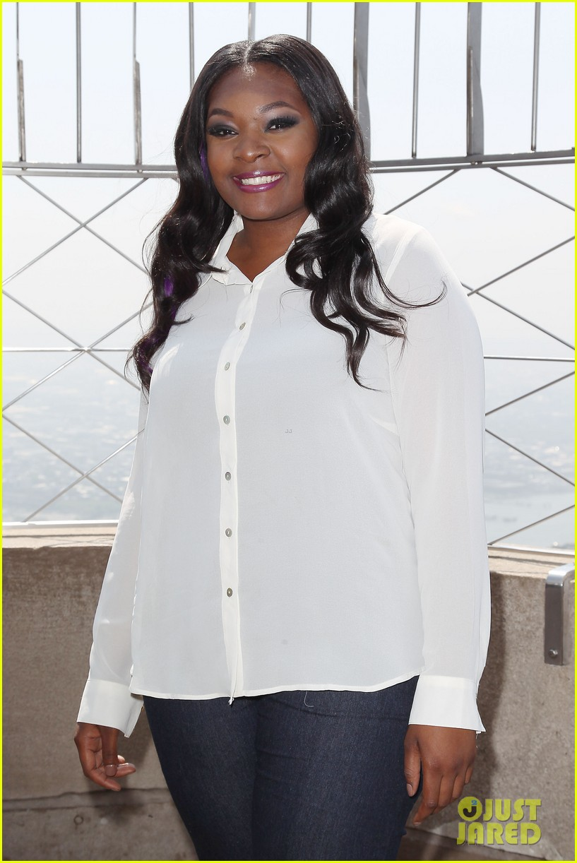american idol winner candice glover visits empire state building exclusive quotes 162875604