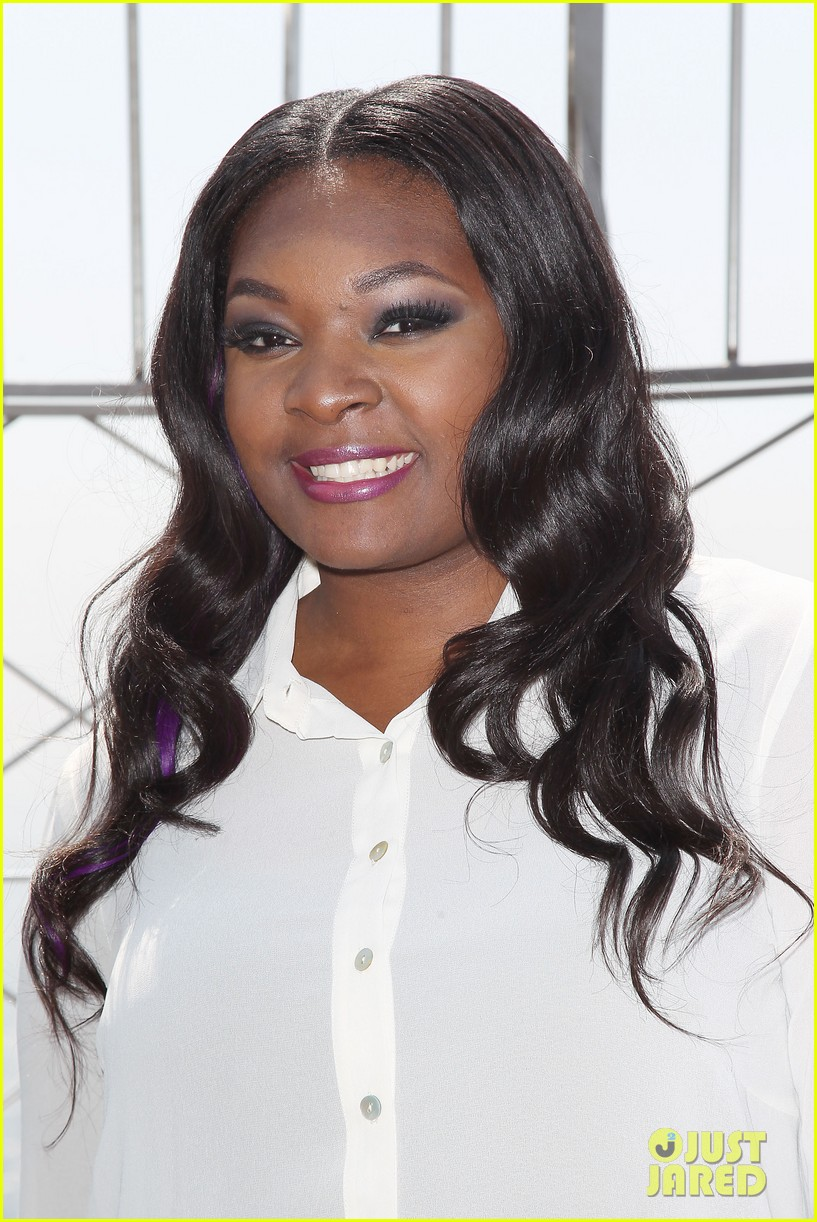 american idol winner candice glover visits empire state building exclusive quotes 202875608