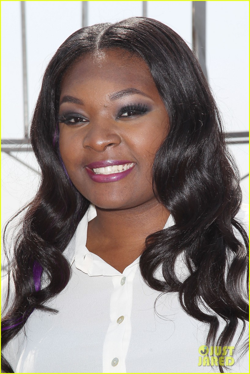 american idol winner candice glover visits empire state building exclusive quotes 212875609