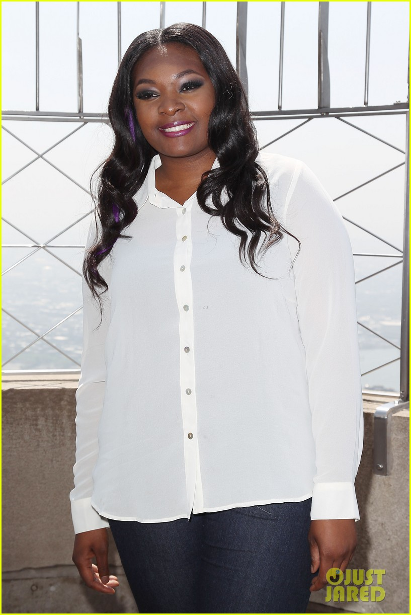 american idol winner candice glover visits empire state building exclusive quotes 242875612