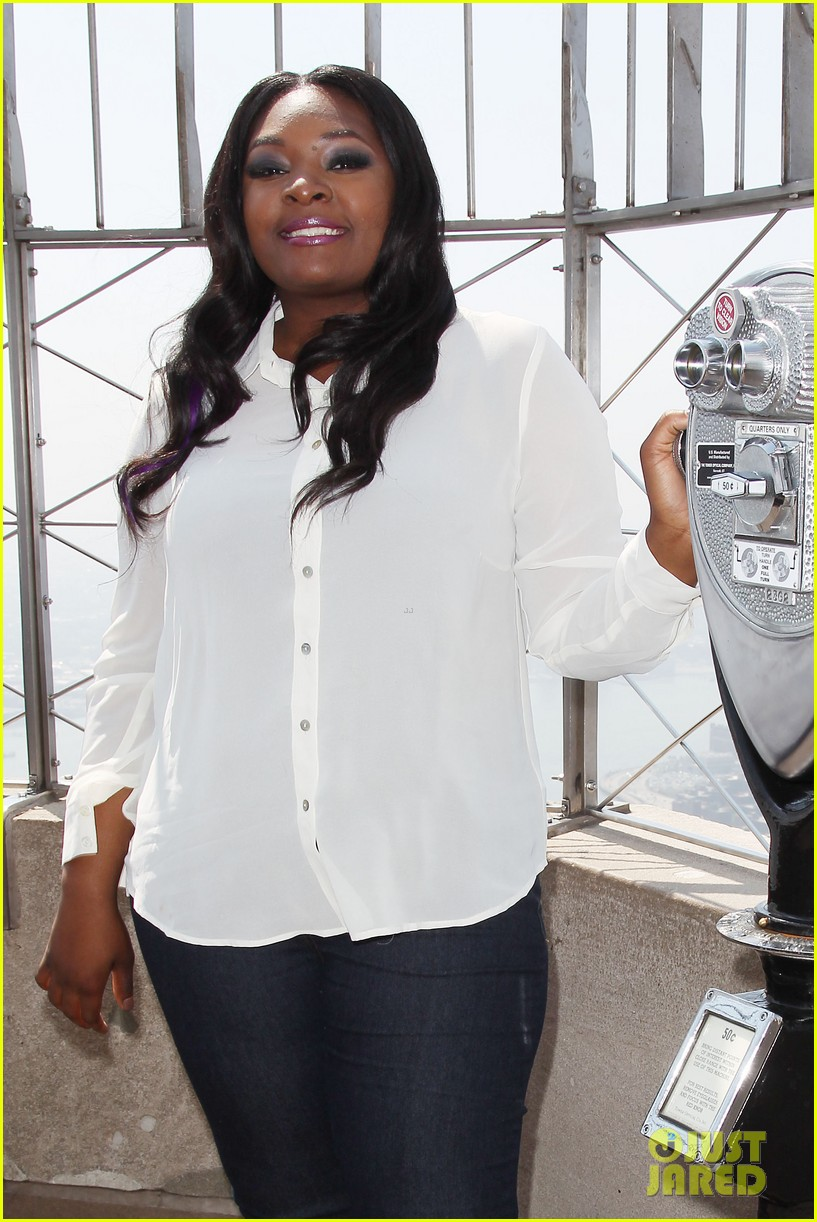 american idol winner candice glover visits empire state building exclusive quotes 252875613