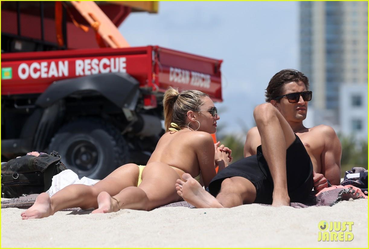 candice swanepoel yellow bikini babe 212879140