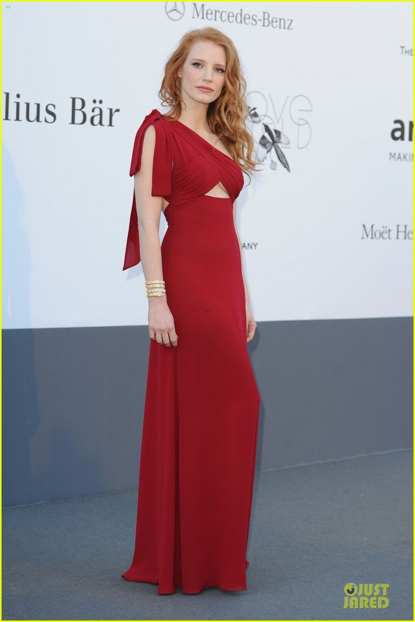 jessica chastain amfar cinema against aids at cannes 012876925