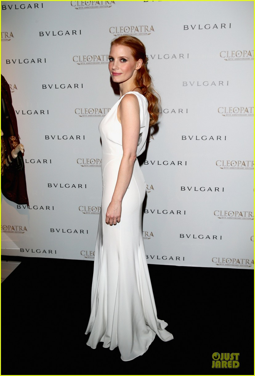 jessica chastain cleopatra cocktail party 112875872