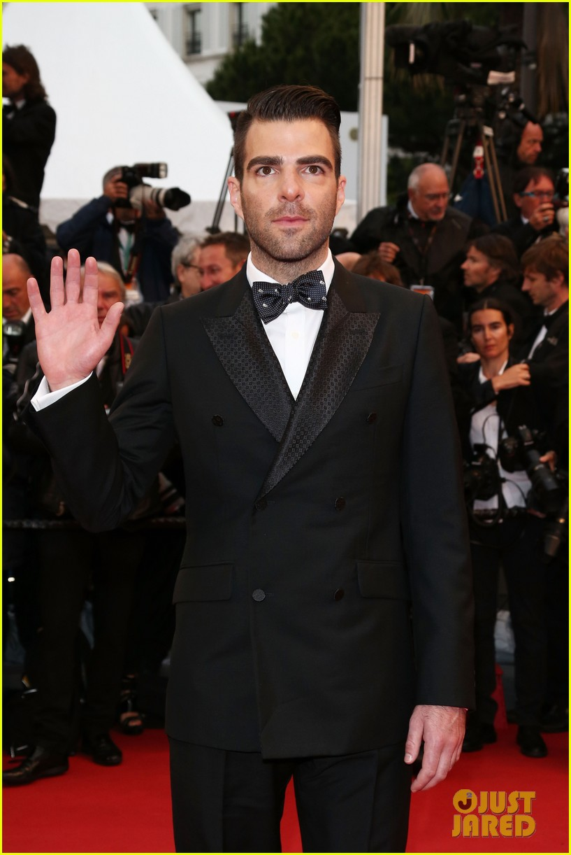 jessica chastain zachary quinto all is lost cannes premiere 142876264